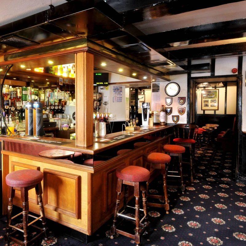 Internal photograph of Kirkside Bar
