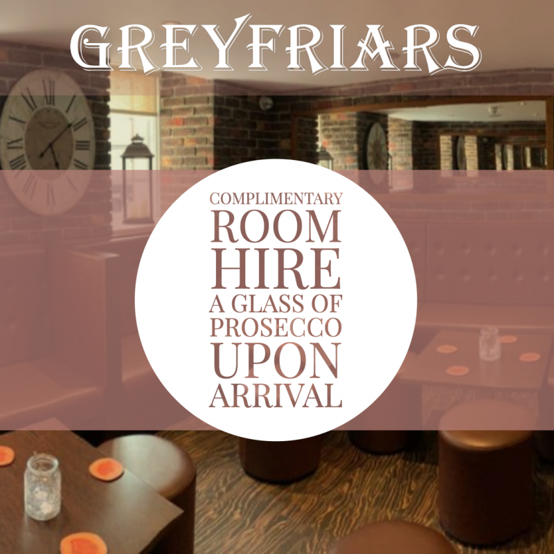 Greyfriars Bar Function Room Competition AJD Digital