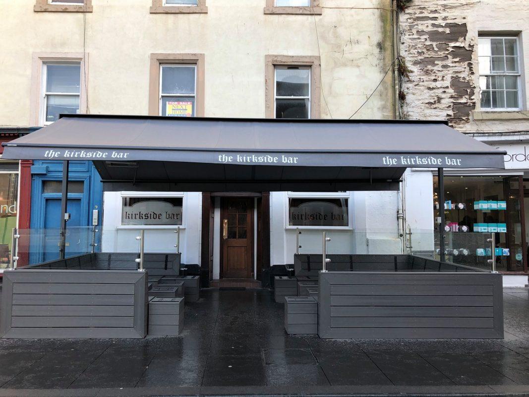 Kirkside Bar new outdoor terrace area