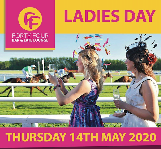 Forty Four Bar Ladies Day Poster