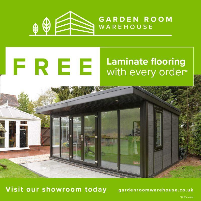 Garden Room Warehouse PPC Advert AJD Digital