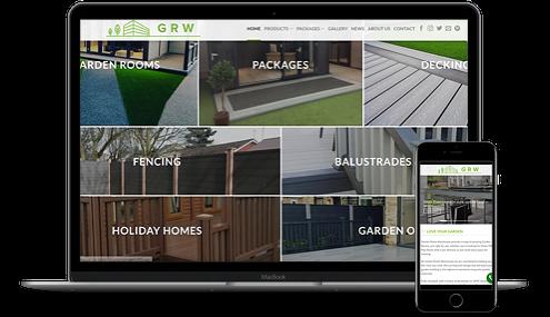 Garden Room Warehouse new website by AJD Digital