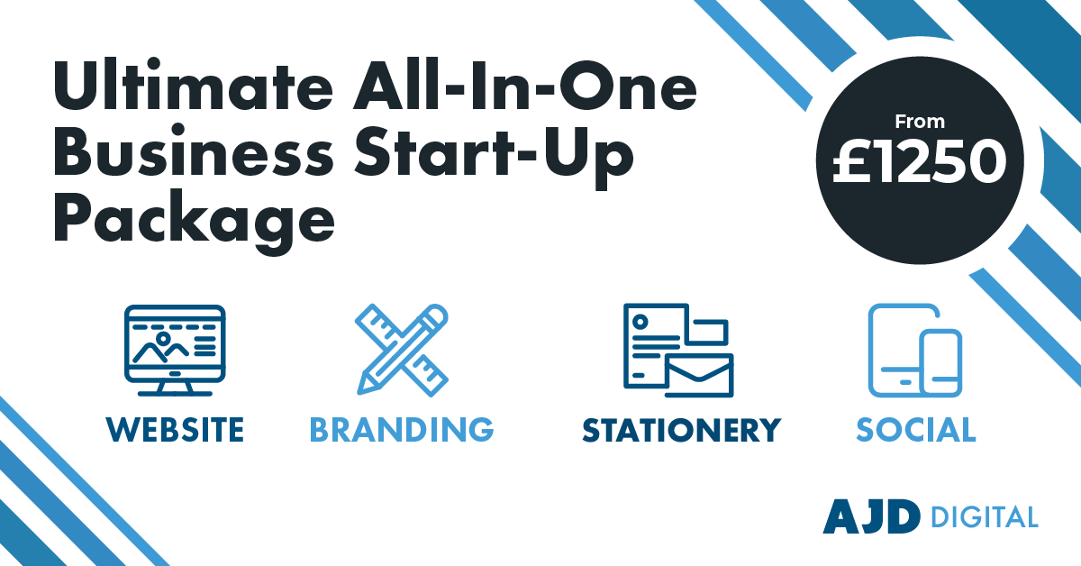 AJD Digital ultimate all in one business start up package