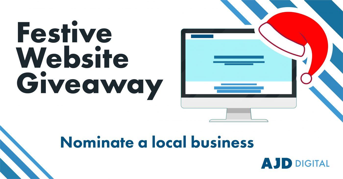Festive Website Giveaway AJD Digital